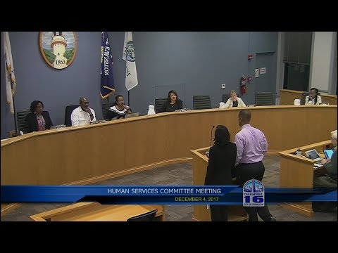Human Services Committee Meeting 12/4/2017