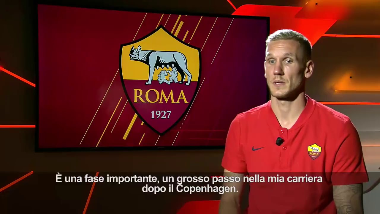 Welcome to a s roma robin olsen youtube for Robin olsen squadre attuali