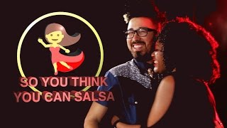 Latinos Dance Salsa For The First Time