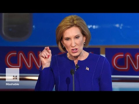 Carly Fiorina's Most Memorable Moments From the Republican Debate | Mashable News