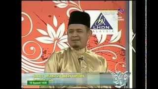 Forum Perdana Ehwal Islam Ustaz Zawawi Dr Zaharuddin Deposit Dunia Saham Akhirat 14 Ogos 2014