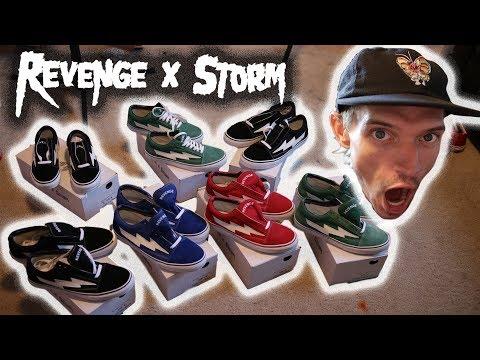 REVENGE X STORM SHOE REVIEW (IN HAND, ALL COLORS) IAN CONNOR VANS