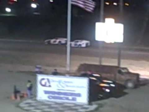 Mike McCarthy blows Engine at Texas Thunder Speedway
