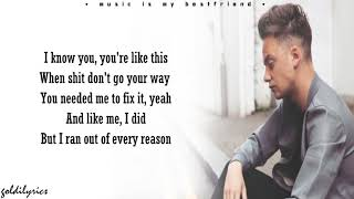 Tate McRae - you broke me first (Conor Maynard Cover) (Lyrics)