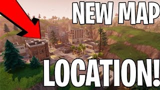 THE NEW MAP OF FORTNITE!! 1 REAL WIN!