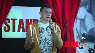 Левуня на сцене Stand-up 0522 о порно