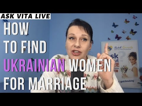 How To Find Ukrainian Women For Marriage