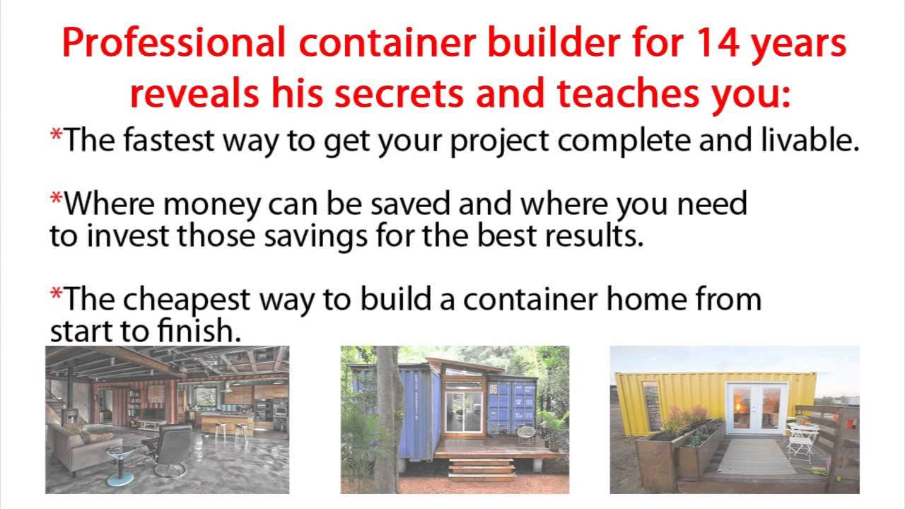 container home build shipping container home step by step guide youtube