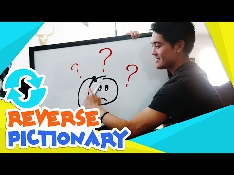 Reverse Pictionary?!