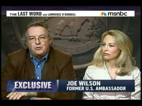 Valerie Plame and Joe Wilson on Last Word-Responding to Bush Book