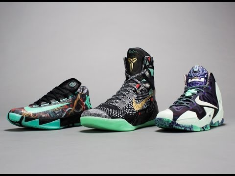the latest 8d91b bf91b Nike All Star Pack 2014 - LeBron 11, Kobe 9, KD 6