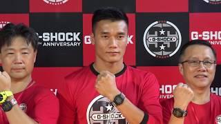 Bùi Tiến Dũng làm đại diện hình ảnh cho thương hiệu đồng hồ G Shock
