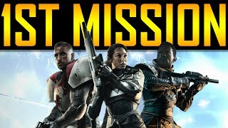 Destiny 2 - FIRST CAMPAIGN MISSION!