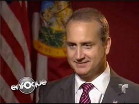 """Rep. Mario Diaz-Balart on Telemundo's """"Enfoque"""" discusses the On-going Immigration Debate"""