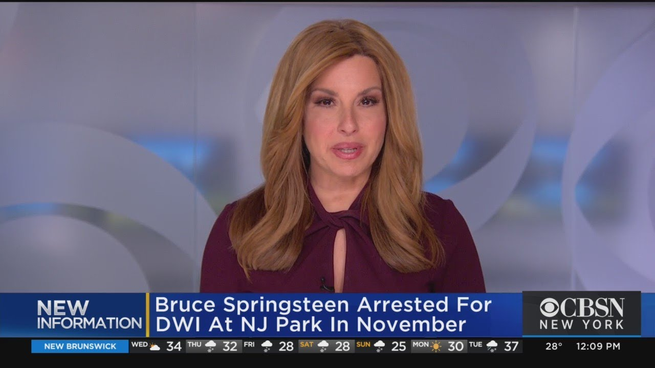 Bruce Springsteen was arrested on drunken-driving charges in ...