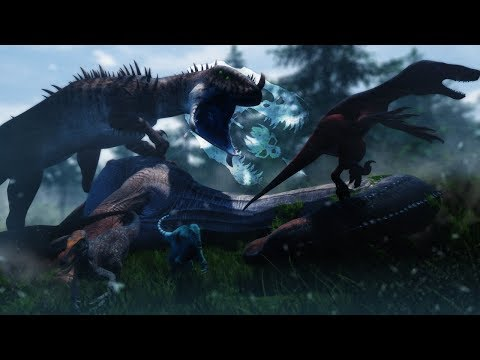 A TERRIBLE NEW PREDATOR  The Isle  Feroxus Imperium, Sulfer Dinosaur Poisoning, Spino Swim & Barry