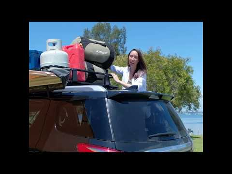Take On Extra Gear With A Roof Rack!