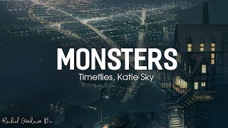 Katie Sky - Monsters Lyrics