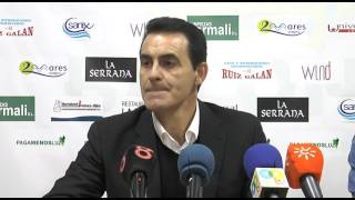 Manolo Ruiz tras Balona-Algeciras (07-02-16)