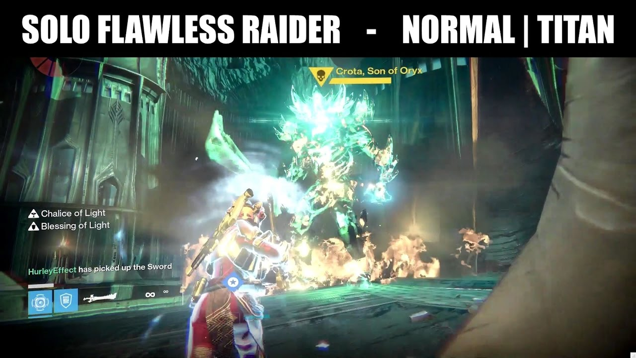 Destiny how many lamps are in crotas end - Destiny How To Solo Flawless Raider Crota S End Titan Doesn T Work In Aot