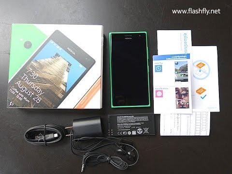 Unbox แกะกล่อง Nokia Lumia 730 Dual SIM รุ่นวางจำหน่ายในประเทศไทย