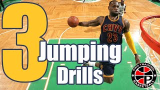 How To: Jump Higher Off One Leg | 3 Jumping Drills | Pro Training Basketball
