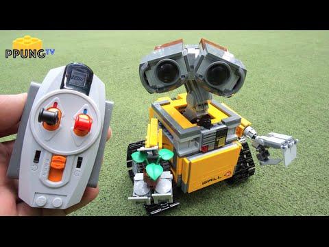 LEGO WALL-E set review! 21303 - YouTube