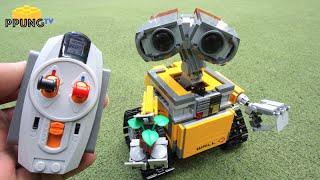LEGO Wall-E 21303 - RC Motorized Wall-E review by 뿡대디