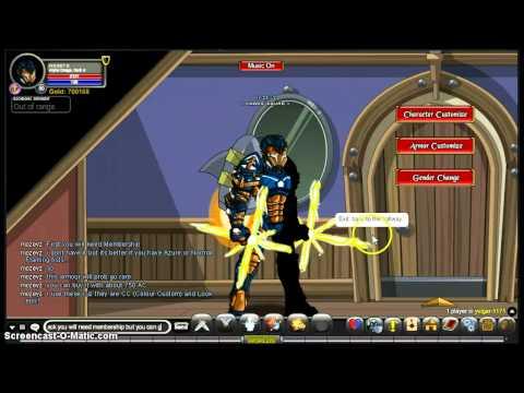 AQW how to look like Iron Man!
