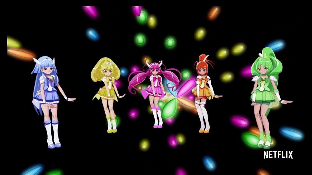 """Glitter Force - Music Video - """"Lucky Girl"""" - YouTube"""
