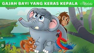 Gajah Bayi Yang Keras Kepala Animasi Kartun Anak Anak Ce