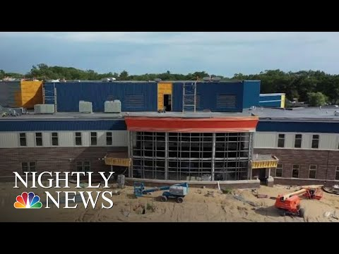 This Michigan High School Is Being Built To Deter Active Shooters | NBC Nightly News