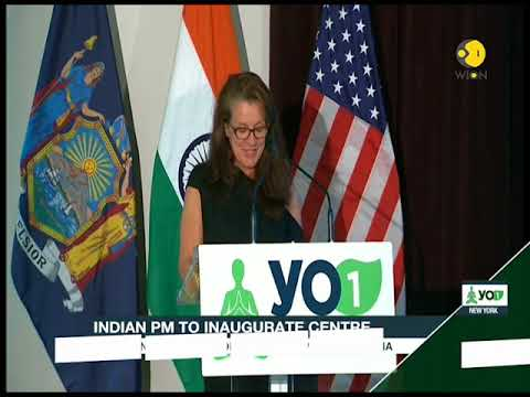 Inauguration of Yo1 Luxury Nature Cure - India's gift to America on International Yoga Day