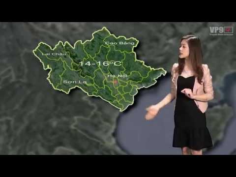 Thời tiết Hà Nội kênh VP9-