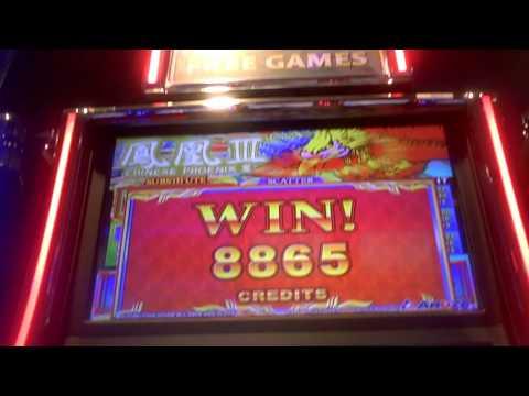Chinese Phoenix Slot Machine Line Hit