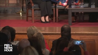 Hillary Clinton speaks at Georgetown