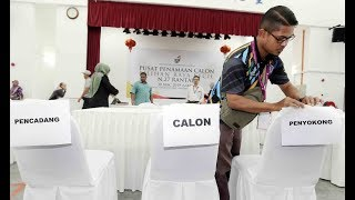 Eight sets of nomination forms snapped up in Rantau