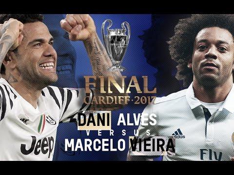 Marcelo vs Dani Alves · Road to Cardiff · Magic Skills, Passes, Goals & Tackles · 16/17 HD