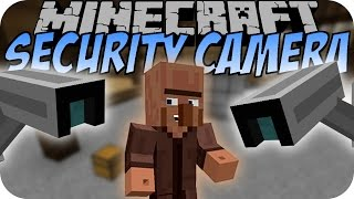 Minecraft SECURITY CAMERA (SECURITY CRAFT MOD) [Deutsch]