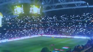 Sverige-Italien atmosfären inför matchen