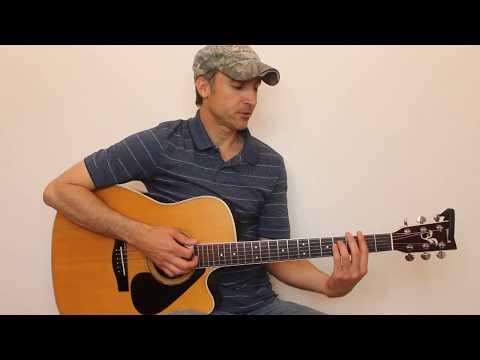 Houston, We Got A Problem - Luke Combs - Guitar Lesson | Tutorial
