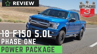 2018 Ford F150 5.0L Phase 1 Power Package Review BDX Tuner w/ S&B Cold Air Intake