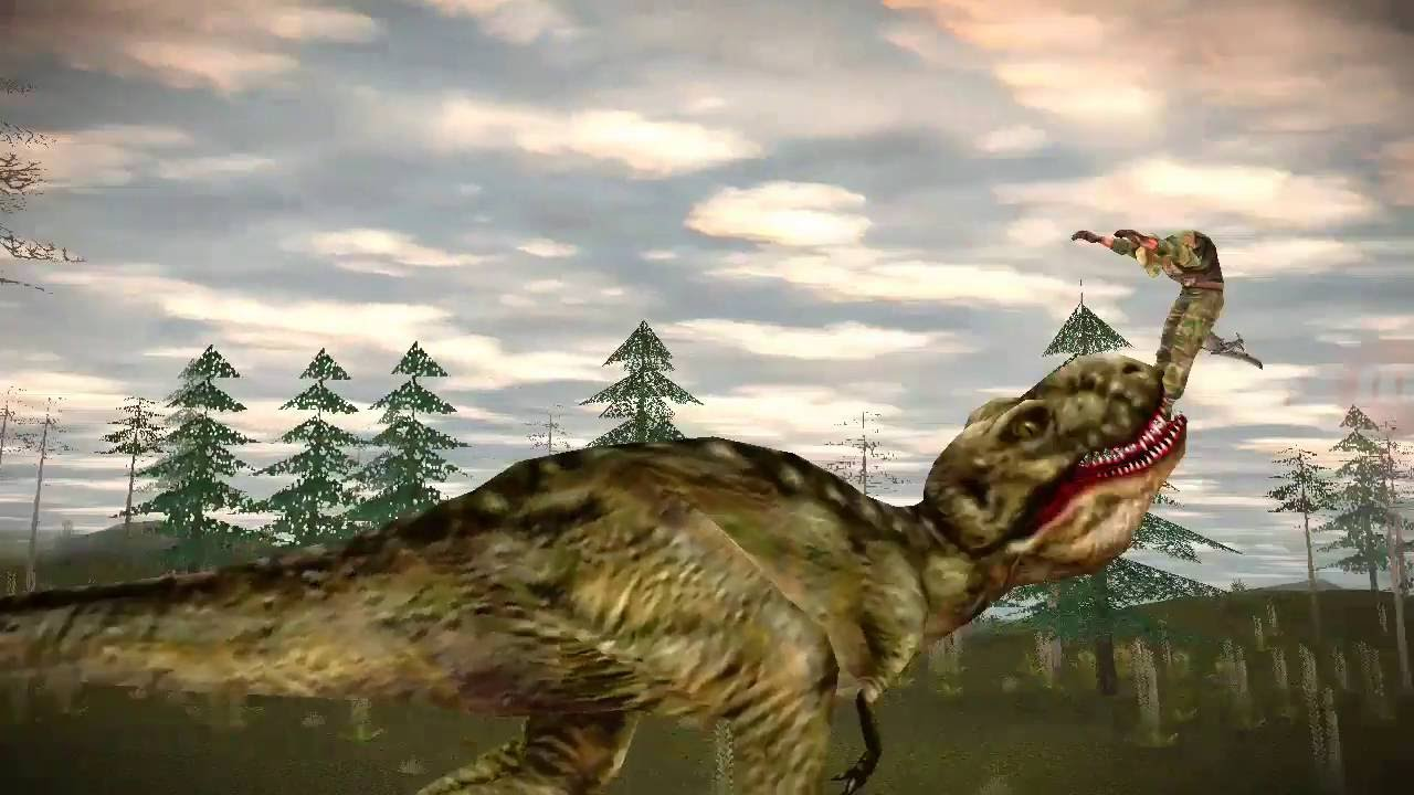 carnivores dinosaur hunter trex hunting fun youtube