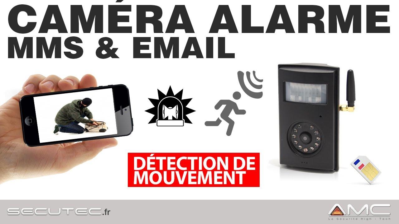 camera de surveillance gsm avec alerte sms/mms