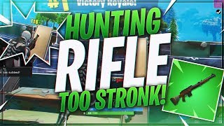 TSM Myth - THE HUNTING RIFLE IS SO STRONG!?! (Fortnite BR Full Match)