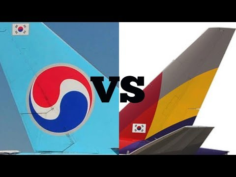Korean Air vs. Asiana Airlines