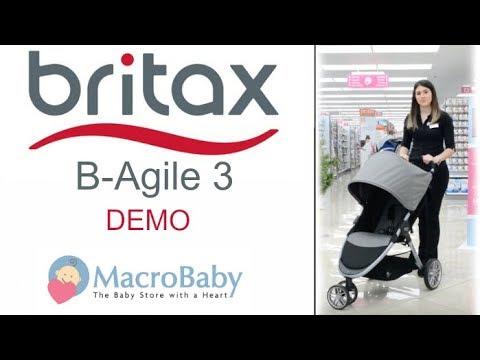 2017 Britax B-Agile 3 - Demo Stroller | MacroBaby