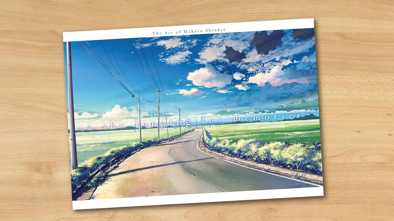 A Sky Longing For Memories The Art Of Makoto Shinkai English Edition