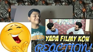 REACTION ON ZYADA FILMY KAUN | BOLLYWOOD QUIZ WITH NAVEED (KHUJLEE FAMILY) VIDEO  [BILAL REACTS]