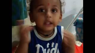 18 months baby boy funny talks